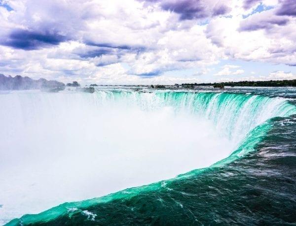In gita alle cascate del Niagara
