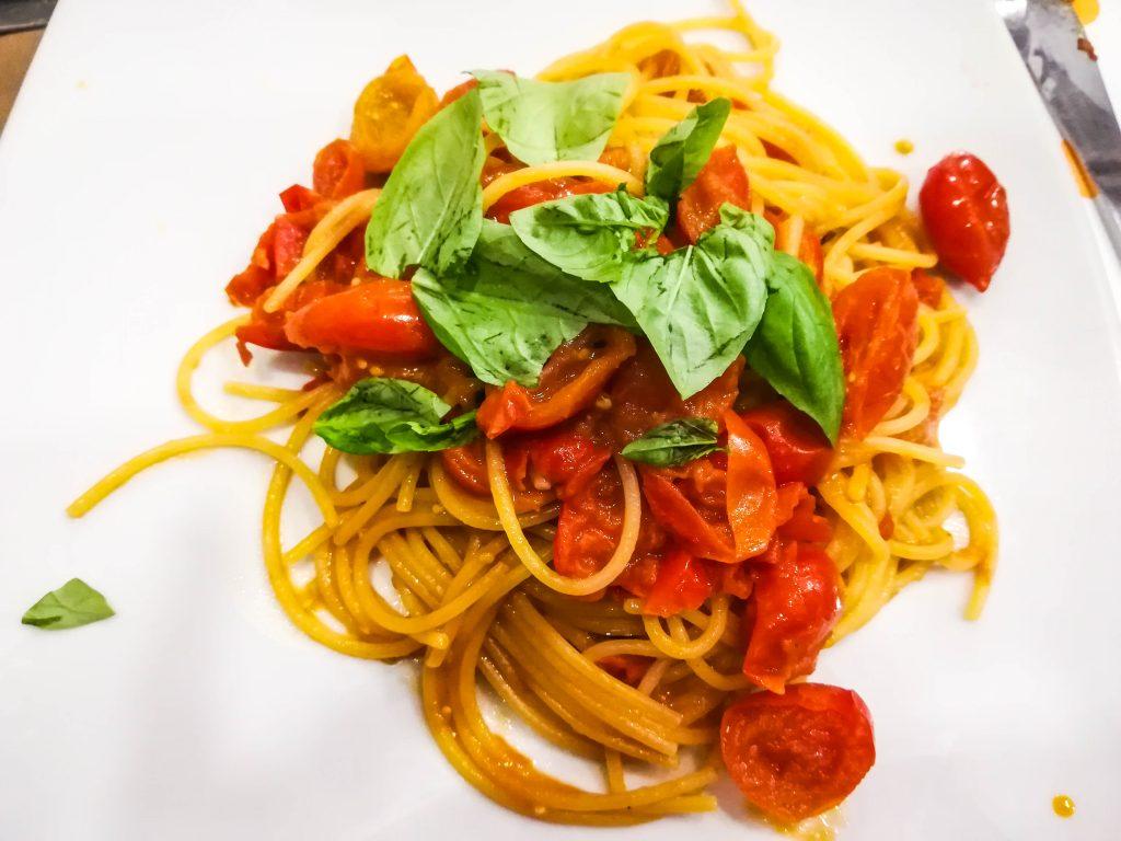 Gli spaghetti al sugo