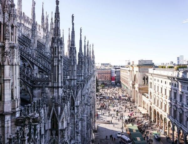 Visitare le terrazze del Duomo di Milano